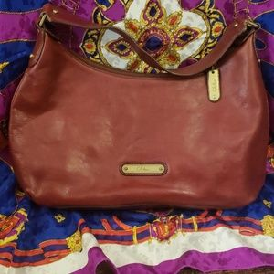 Beautiful Cole Haan Red Leather Purse